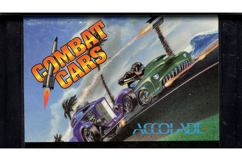 Classic Game Room - COMBAT CARS review for Sega Genesis ...