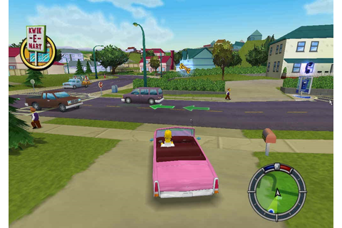 The Simpsons Hit and Run - PC