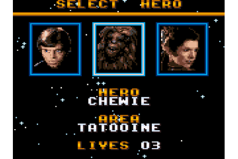 Super Star Wars: Return of the Jedi Game Download ...