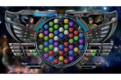 Try Puzzle Quest: Galactrix Online