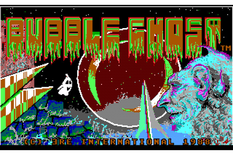 Download Bubble Ghost action for DOS (1988) - Abandonware DOS