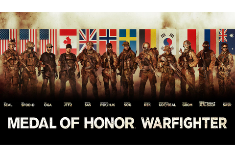 Avant-Garde Experience: Medal of Honor Warfighter.