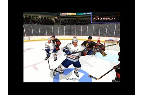NHL FaceOff 2001 ... (PS2) - YouTube