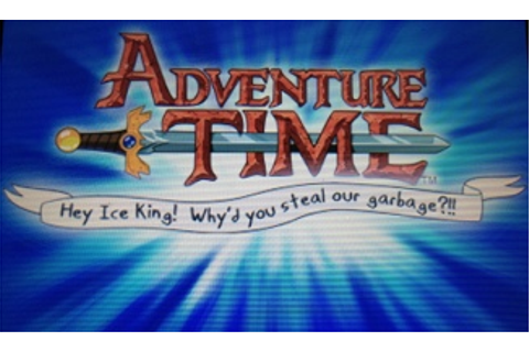ゲームの時間をくれRevenge - 北米版3DS『Adventure Time: Hey Ice King ...