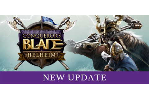 Conqueror's Blade on Steam