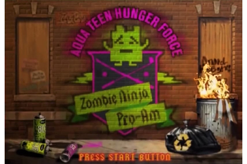 Aqua Teen Hunger Force Zombie Ninja Pro-Am - Wikipedia