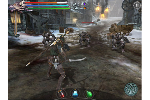 iPhones Games and Applications: Joe Dever's Lone Wolf