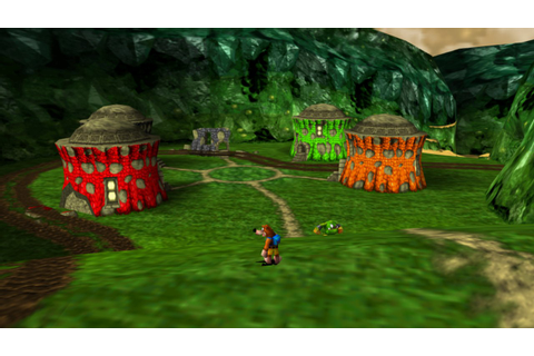 The Video Game Genealogist: Side-Game : Banjo-Tooie (N64 ...