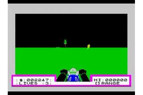 3D Deathchase Sinclair ZX Spectrum - YouTube