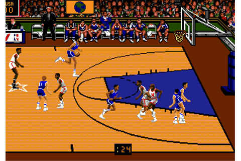 Play Team USA Basketball Sega Genesis online | Play retro ...
