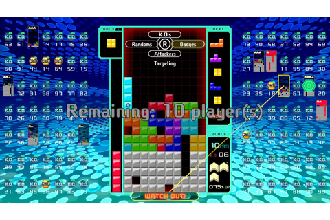Tetris 99 Review – Winner Winner, Tetris Dinner - Game ...