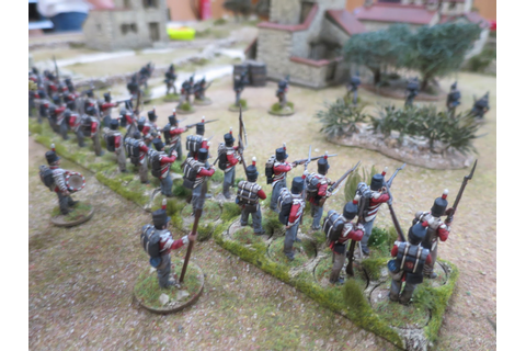 Four Colour Super Minis: Another Peninsular War game
