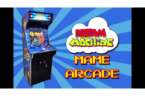 The Dream Machine MAME arcade cabinet with Hyperspin - YouTube