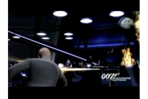 James Bond 007 Quitte ou Double - Trailer du jeu - PS2.mov ...