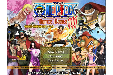 One Piece - Triple Duels Compilation Windows game - Indie DB