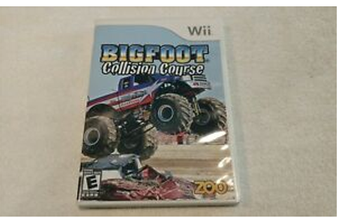 Bigfoot: Collision Course (Nintendo Wii, 2008) Game ...