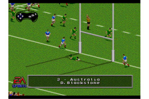 Download Australian Rugby League (Genesis) - My Abandonware
