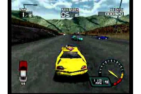Demolition Racer ps1 - YouTube