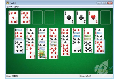 Microsoft FreeCell - latest version 2018 free download