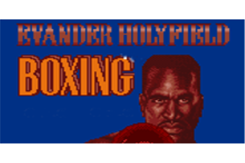 Evander Holyfield's Real Deal Boxing Download | GameFabrique