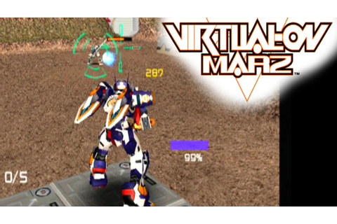 Cyber Troopers Virtual-On Marz ... (PS2) - YouTube