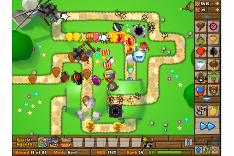 Black And Gold Games: Bloons Tower Defense 5 Videos
