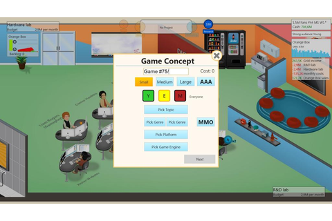 Review: Game Dev Tycoon (PC) - Digitally Downloaded