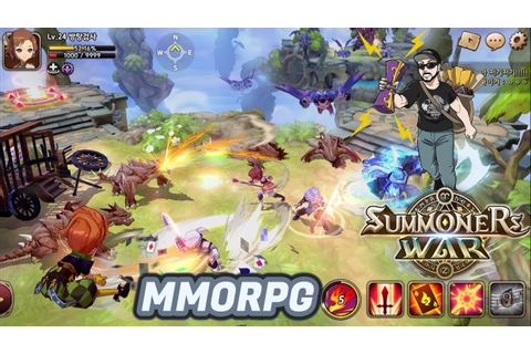 Summoners War MMORPG ! Saiu um vídeo do game ! - YouTube