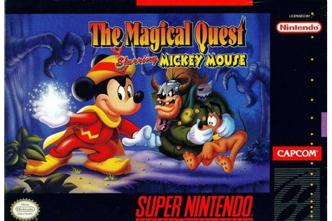The Magical Quest starring Mickey Mouse | Disney Wiki ...
