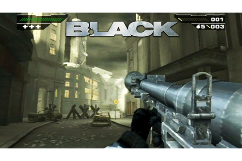 Black - Gameplay Original Xbox / Ps2 (Release Date 2006 ...