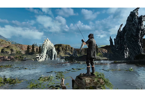 New Games: MONSTER OF THE DEEP - FINAL FANTASY XV ...