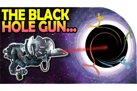 THE BLACK HOLE GUN - DESTROYING EVERYTHING- Stick Fight ...
