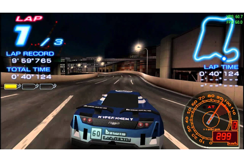 PPSSPP - Ridge Racer 2 - YouTube