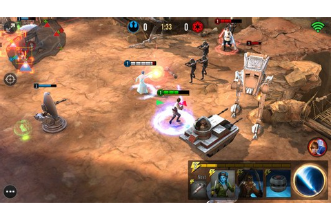 Star Wars™: Force Arena APK Free Strategy Android Game ...