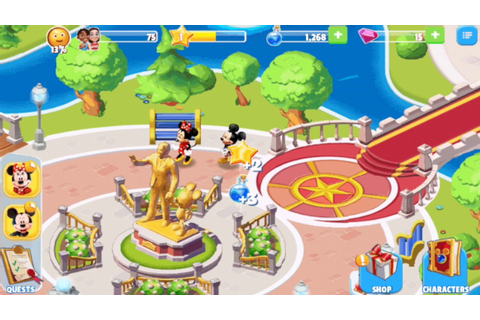 Disney Magic Kingdoms: 1.02 Android Gameplay (with Lion ...