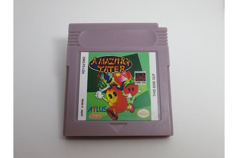 Amazing Tater Game Boy reproduction cartridge gb gbc