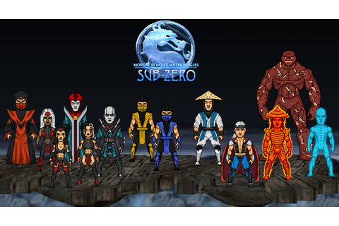 Mortal Kombat Mythologies Sub-Zero by dzgarcia on DeviantArt