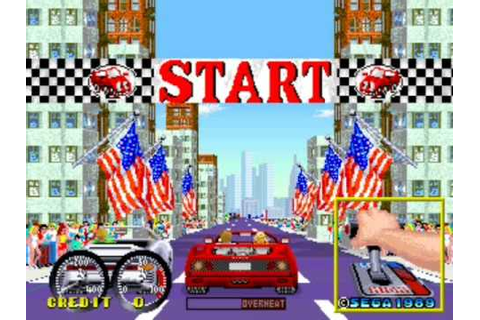 Turbo OutRun - Sega Arcade Version Complete First Section ...