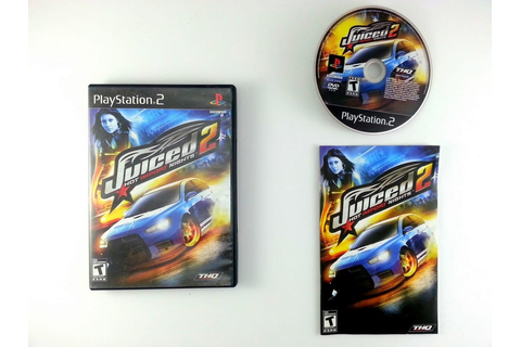 Juiced 2 Hot Import Nights game for Playstation 2 ...