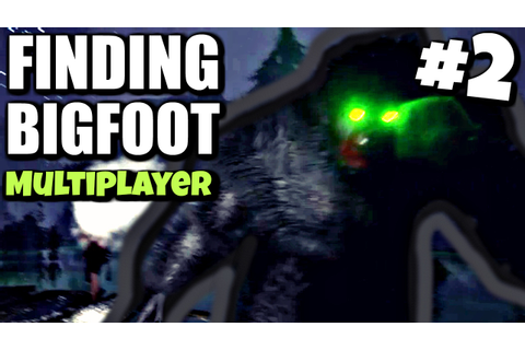ANGRY BIGFOOT ATTACKS!! | Finding Bigfoot Multiplayer ...
