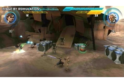 Star Wars The Clone Wars - Republic Heroes (Europe) PSP ...