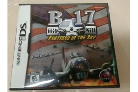 B-17: Fortress in the Sky Nintendo DS. DSDI Game | eBay