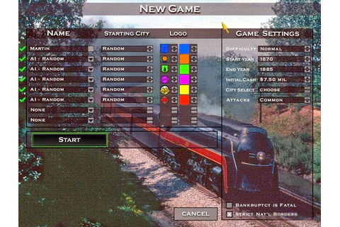 Rails Across America Game Free Download Full Version For Pc