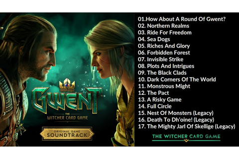 GWENT: The Witcher Card Game (Original Game Soundtrack ...