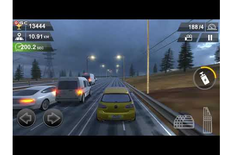 Racing Traffic Car Speed - Rain Highway - High Speed Car ...