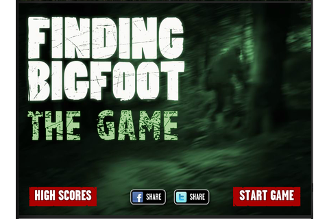 Bigfoot News | Bigfoot Lunch Club: Finding Bigfoot: The Game!