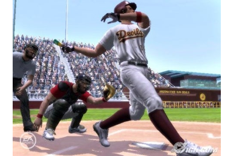 MVP 06 NCAA Baseball 06: Hands-On - IGN
