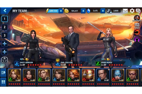REVIEW- Marvel: Future Fight - The Marvel Report