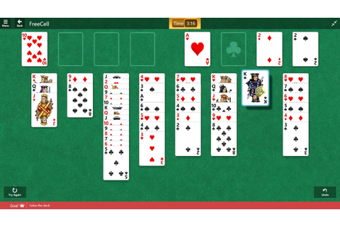 Microsoft Solitaire Collection - FreeCell - May 10 2017 ...