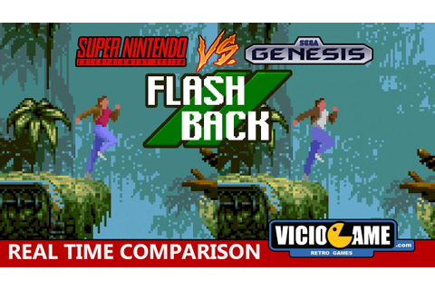 Super Nintendo VS Mega Drive (Flashback) - YouTube